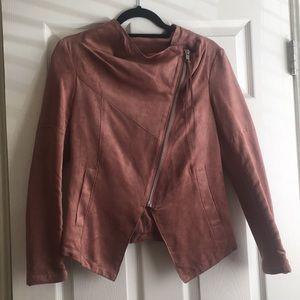 H&M Suede Pink Jacket